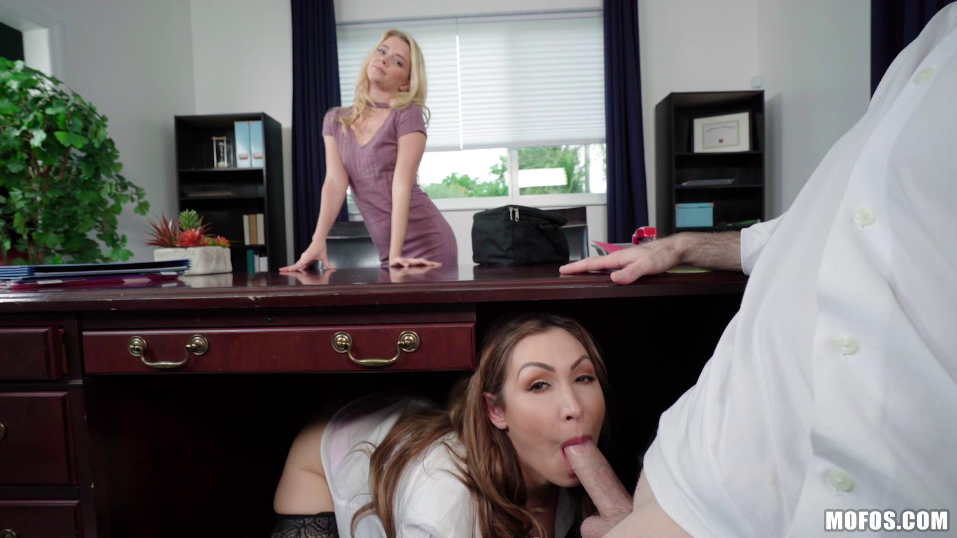ShareMyBF – Riley Star And Yasmin Scott Boss Shares Wife With Hot Secretary