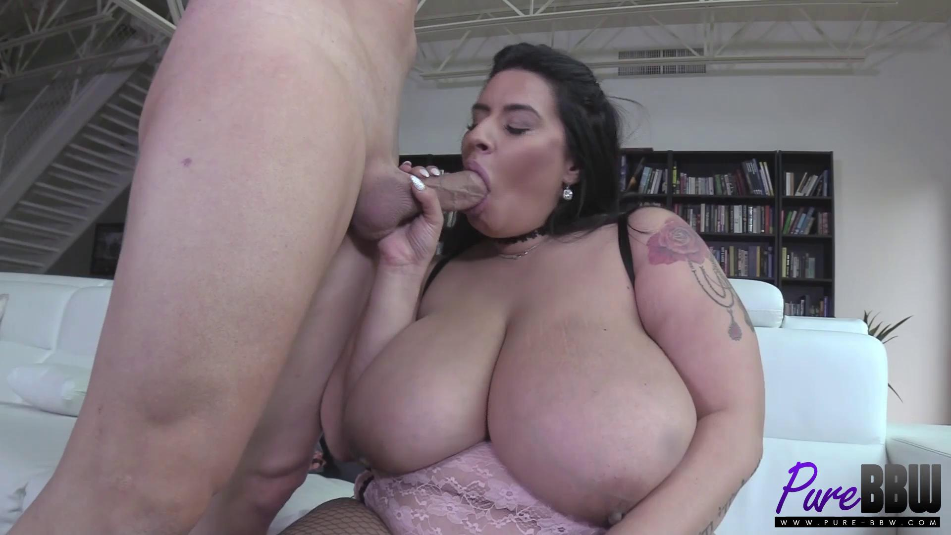 Pure-BBW – Sofia Rose Superstar Sofia Takes Care Of His Cock