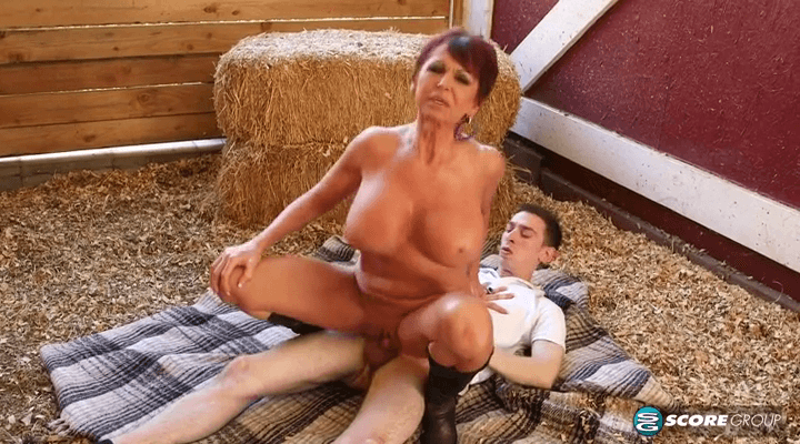 PornMegaLoad – Gina Milano –  Old Pussy Meet Young Cock