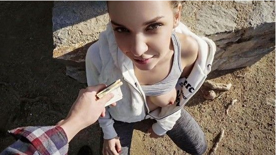 PublicPickUps  – Henessy  – Fitness Babe Loves Public Sex