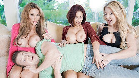 BadMilfs:  – Farrah Dahl, Ryder Skye ,d Laura Bentley