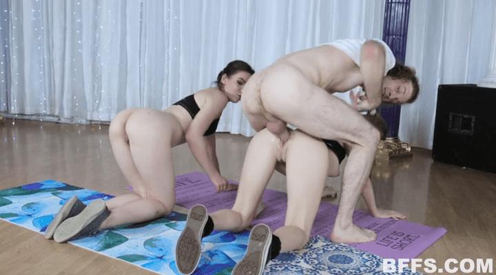 BFFS:  – Yoga Perv